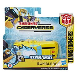 STAR WARS Transformers Cyberverse Action Attackers: 1-Step Changer Bumblebee Action Figure Toy