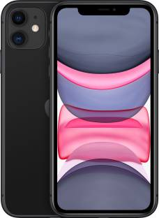 Flipkart offers on Mobiles - Apple iPhone 11 (Black, 64 GB) (Includes EarPods, Power Adapter)