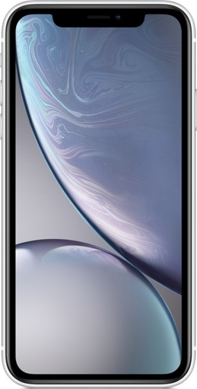 Flipkart offers on Mobiles - Apple iPhone XR (White, 64 GB) (Includes EarPods, Power Adapter)