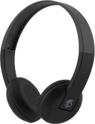 Skullcandy Uproar Bluetooth Headset with Mic Grey Black, Wireless over the head