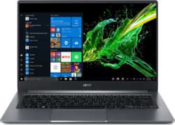 Acer Swift 3 Core i5 10th Gen - (8 GB/512 GB SSD/Windows 10 Home/2 GB Graphics) SF314-57/SF314-57G Thin and Light Laptop 14 inch, Steel Grey, 1.19 kg