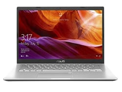 ASUS VivoBook 14 Intel Core i5-1035G1 10th Gen 14-inch FHD Compact and Light Laptop (8GB RAM/1TB HDD/Windows 10/Integrated Graphics/Transparent Silver/1.60 kg), X409JA-EK581T