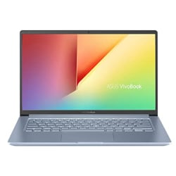 ASUS VivoBook S14 Intel Core i5-1035G1 10th Gen 14-inch FHD Thin and Light Laptop (8GB RAM/512GB NVMe SSD + 32GB Optane Memory/Windows 10/MS Office 2019/Silver Blue/1.35 kg), S403JA-BM033TS