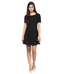 Candies By Pantaloons Black Casual Dress
