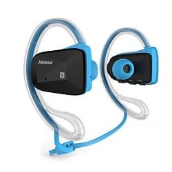 Jabees BSport Bluetooth Sweatproof Sports Headphone(Blue)