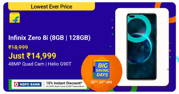 Infinix Zero 8i | Just Rs. 14,999 | Shop Now.