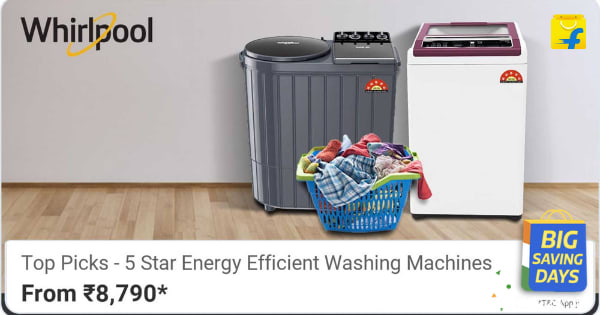 Whirlpool WM Washing Machines | From Rs. 8,790 | Shop Now.