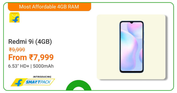 Redmi 9i Series | From Rs. 7,999 | Shop Now.
