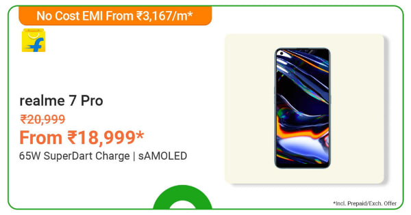 Realme 7 Pro | From Rs. 18,999 | Shop Now.
