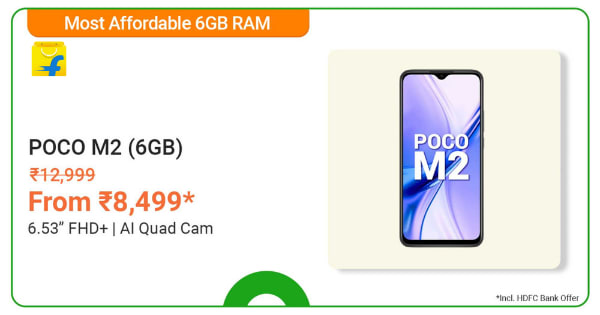 POCO M2 | From Rs. 8,499 | Shop Now.