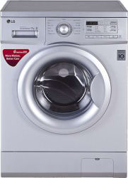 LG 7 kg Fully Automatic Front Load Washing Machine Silver (FH0B8QDL25)