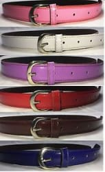 Combo of 6 Women Belts best quality Pink,Purple,Red,Maroon,White,Blue Colors