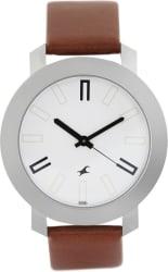 Fastrack NG3120SL01C Bare Basic Watch - For Men