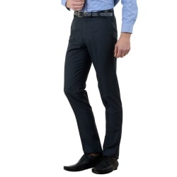 American-Elm Men s Cotton Formal Trousers- Pack of 3, 32, multicolor