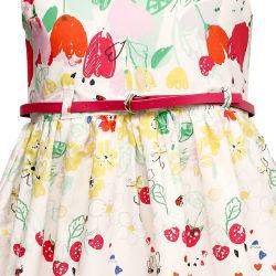 Bella Moda Girl s Casual Dress (OM665), multicolor, 11 12 years