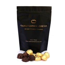 Christopher Cocoa - 55% Dark Chocolate 100g - Pack Of 2