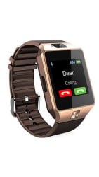 SMART WATCH DZ09 WITH SIM CARD AND MEMORY CARD SUPPORT