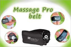 Massage Pro Vibration+ Sauna Heat Belt, black