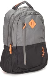 Skybags 26 L Backpack (Black, White)