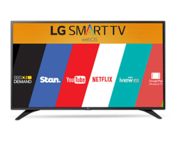 LG 43LH600T 43 Inches Smart with WebOS 3.0 IPS LED TV, black