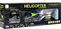 Sirius Toys FX078 4CH 2.4G Single Blade RC Helicopter (Green) (Green, Black)