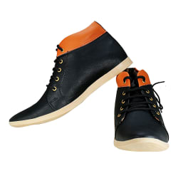 Knightlite Designer Casual Men Sneaker (zxc8), black, 7