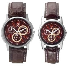 Rico Sordi Deroni Multicolour Analog Couple Watch, design 4