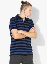 Platinum Navy Blue Polo T-Shirt
