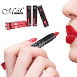 MeNow Kissproof Matte Soft Powdery Lipstick Pencil Makeup Waterproof LongLasting