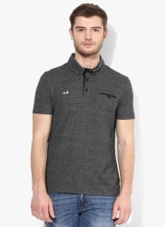Gent Grey Polo T-Shirt