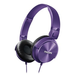 Philips SHL3060PP Headphones (Purple)