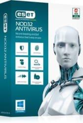 ESET NOD32 Antivirus Version 9 - 1 User / 1 Year Windows 10 Support + BILL