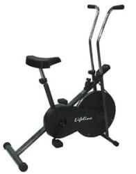 Lifeline Branded 102 cycle home gym fitness cardio air bike electronic display