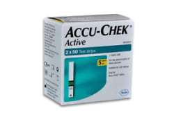 Accu-Chek Active 100 Test Strips, 2*50 Strips - Exp 31/05/2019