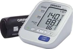 Omron Automatic Blood Pressure Upper Arm Monitor-HEM-7132-IN New Series