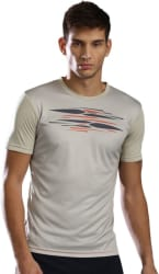 HRX by Hrithik Roshan Printed Men s Round Neck Multicolor T-Shirt