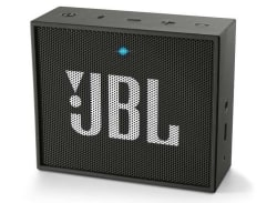 JBL GO Portable Bluetooth Speaker (with Aux-In/mic) - Black