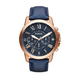 Fossil Analog Blue Dial Men s Watch - FS4835