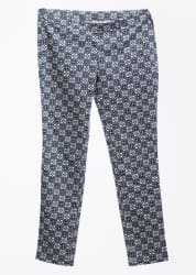 United Colors of Benetton. Regular Fit Women s Blue, White Trousers