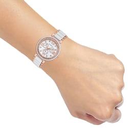 Laurels Victoria Series White Women Watch (LO-VCT-010606)