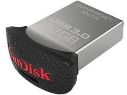 SanDisk Ultra Fit 32 GB USB 3.0 Flash Drive 32GB Pendrive