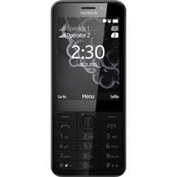 Nokia 230 (Dark Silver, 16MB) Mobile Phone