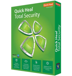 Quick Heal Total Security- 1 User 1 Year