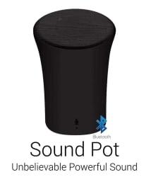 Portronics POR 280 Sound Pot Wireless Bluetooth Speaker (Black)