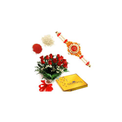 BAF Rakhi-Sweet Celebrations Gift