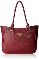 Fantosy Women s Shoulder Bag (Maroon,Fnb-222)