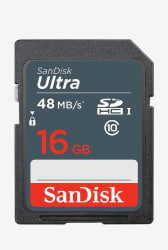SanDisk SDSDUNB016GGN3IN Ultra 16 GB Memory Card