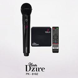 Persang PK 8162 Dzire Wireless Karaoke Player (Black)