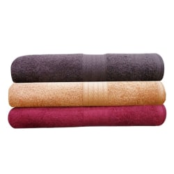 India Furnish Soft Premium Bath Towel (IFTW15038), multicolor