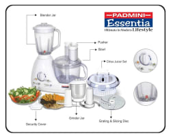 Padmini FP 403 Food Processor (White)